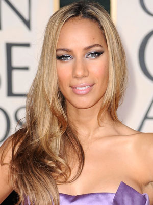 Leona Lewis at the 2010 Golden Globe Awards 2010-01-17 16:22:24