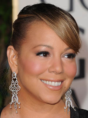 Mariah Carey at 2010 Golden Globes