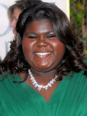 Gabourey Sidibe at the 2010 Golden Globes