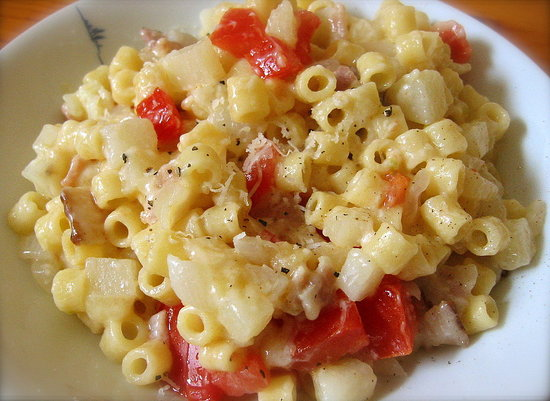 Neapolitan Mac and Cheese