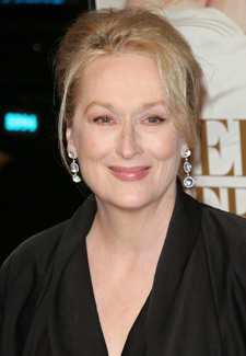 Meryl Streep is the Winner for the 2010 Golden Globe for Best Actress in a Musical or Comedy