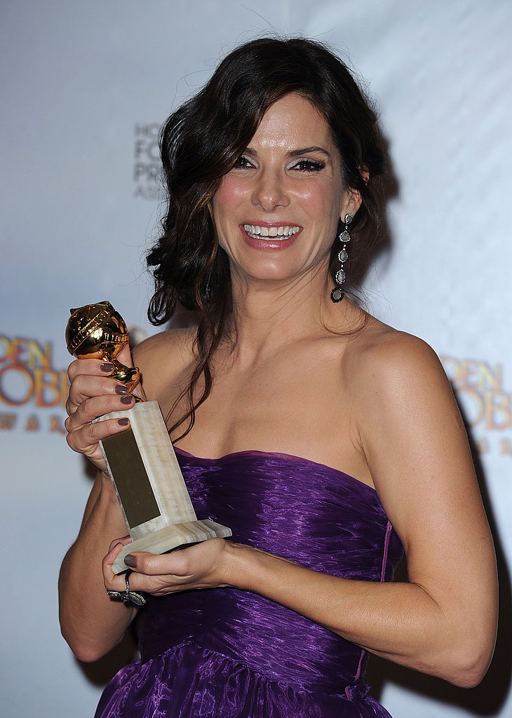 Photos of Sandra Bullock in Press Room