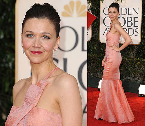 Maggie Gyllenhaal at the 2010 Golden Globes 2010-01-17 15:44:30