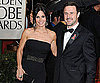 Slide of Courteney Cox and David Arquette at Golden Globe Awards
