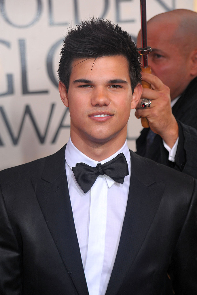 Photos of Taylor Lautner at Golden Globes