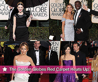 Photos of George Clooney, Joshua Jackson, Diane Kruger, and Emily Blunt at the 2010 Golden Globe Awards