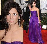 Sandra Bullock in Bottega Veneta at the 2010 Golden Globe Awards Red Carpet