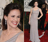 Jennifer Garner in Versace on the 2010 Golden Globe Awards Red Carpet 2010-01-17 17:26:27