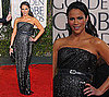Paula Patton in Kaufman Franco at 2010 Golden Globes