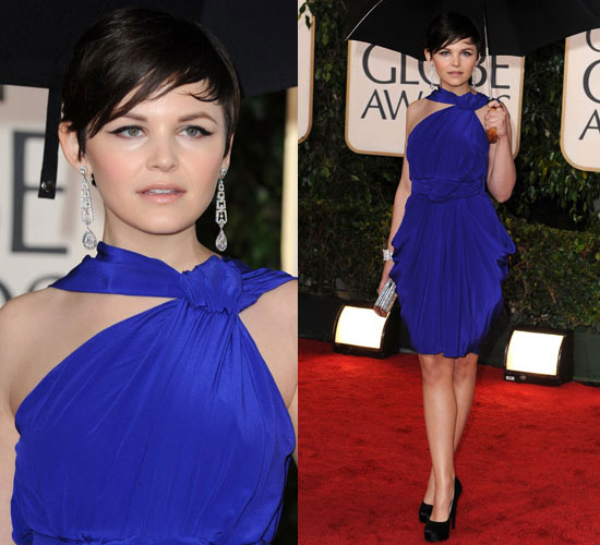 Ginnifer Goodwin in Vionnet at 2010 Golden Globes Awards
