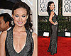 Olivia Wilde in Gucci at 2010 Golden Globe Awards