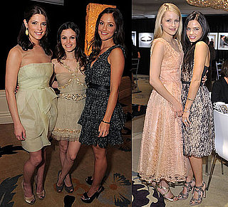 Photos of Minka Kelly, Ashley Greene, Rachel Bilson, and More Inside Golden Globes InStyle Diamonds Luncheon