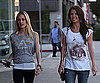Slide Photo of Kristin Cavallari and Audrina Patridge Filming The Hills