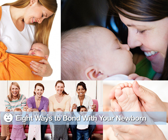 8 Ways to Bond With Your Newborn