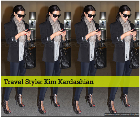 Travel Style: Kim Kardashian 