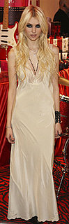 Taylor Momsen Wears Slip Dress to Victoria's Secret Event