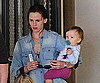 Slide Photo of Jennifer Garner with Seraphina in LA
