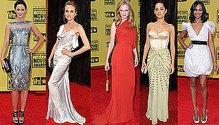 Photos of Diane Kruger, Zoe Saldana, Marion Cotillard, and Emily Blunt at 2010 Critics' Choice Awards 2010-01-16 10:00:11