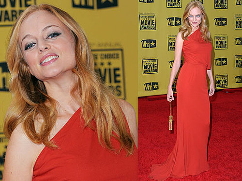 Heather Graham at 2010 Critics' Choice Awards 2010-01-15 18:50:36