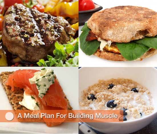 A Meal Plan For Building Muscle