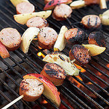Sausage, Fennel, and Apple Skewers
