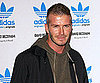Slide Photo of David Beckham in Milan For Adidas