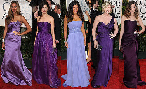 2010 Golden Globes Trend: Purple Gowns
