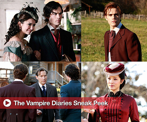 "Photos From Upcoming The Vampire Diaries Episode ""Children of the Damned"""