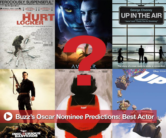 Buzz's Oscar Nominee Predictions: Best Actor