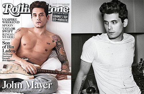 Shirtless Photos and Quotes Of John Mayer in Rolling Stone