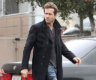Slide Photo of Ryan Reynolds in LA