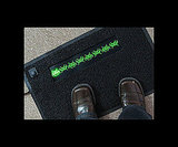 Flashing Doormat ($40)
