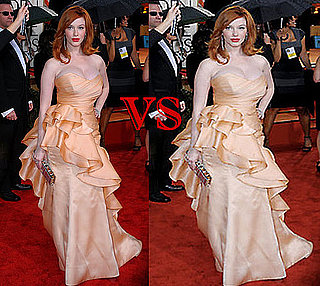Christina Hendricks Photoshopping Disaster