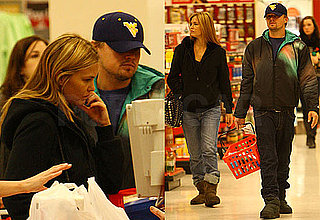 Photos of Leonardo DiCaprio and Bar Refaeli at Target