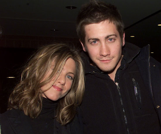 Jennifer Aniston and Jake Gyllenhaal were at the 2002 The Good Girl premiere.