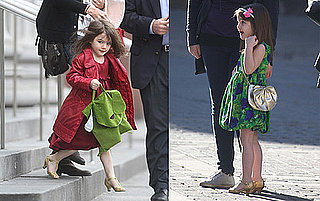 Suri Cruise in High Heels
