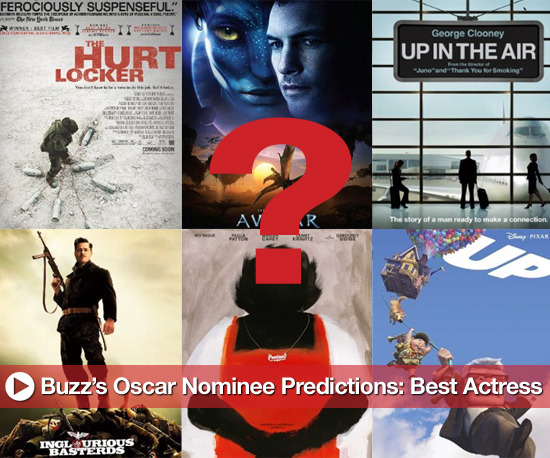 Buzz's Oscar Nominee Predictions: Best Actress