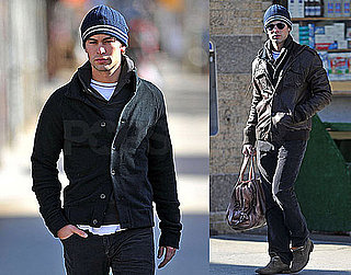 Photos of Chace Crawford In NYC On His Way to Gossip Girl Cast