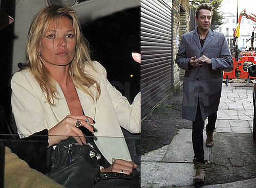Photos of Kate Moss And Jamie Hince Celebrating Her Birthday in London
