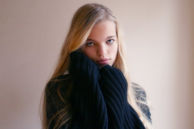 Fifteen-year-old Dutch model Daphne Groeneveld was discovered while shopping and is a big fan of fellow model Douzen Kroes.