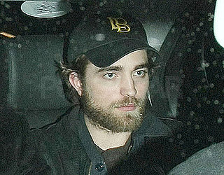 Photos of Robert Pattinson Arriving For the Hope For Haiti Telethon