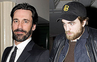 Who Looks Hotter With a Beard: Robert Pattinson or Jon Hamm?