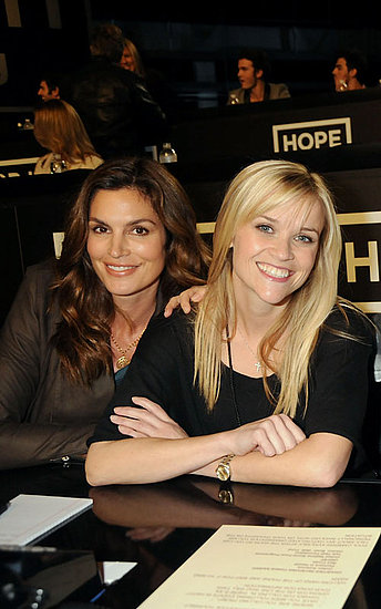 Cindy Crawford and Reese Witherspoon