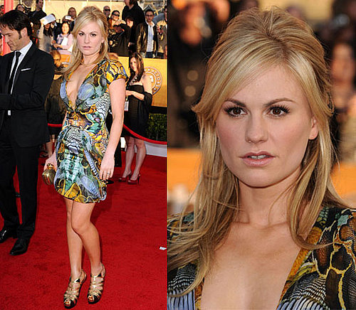 Anna Paquin Wearing Alexander McQueen at 2010 SAG Awards