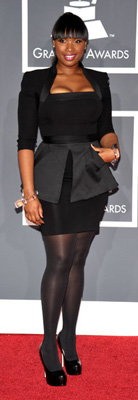 Jennifer Hudson at 2010 Grammy Awards
