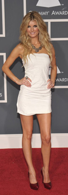 Marisa Miller at 2010 Grammys