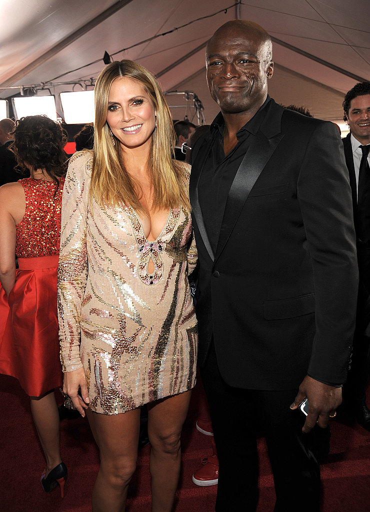 Photos of Heidi Klum and Seal at Grammy Awards