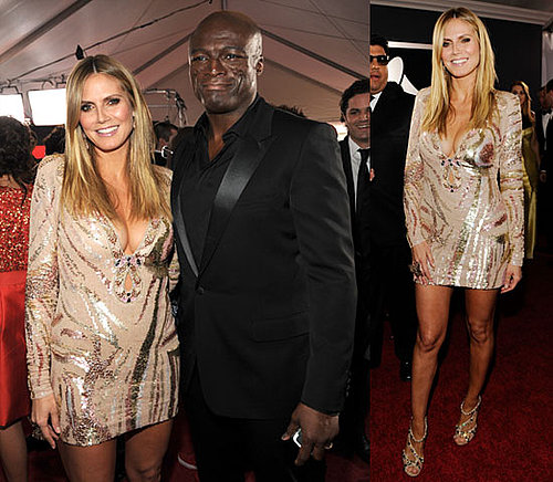 Photos of Heidi Klum at the 2010 Grammy Awards