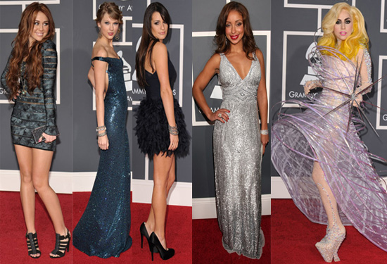 Best Dressed at 2010 Grammy Awards