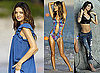 Photos of Miranda Kerr and Alessandra Ambrosio in Bikinis in St Barts for Victoria's Secret Catalog